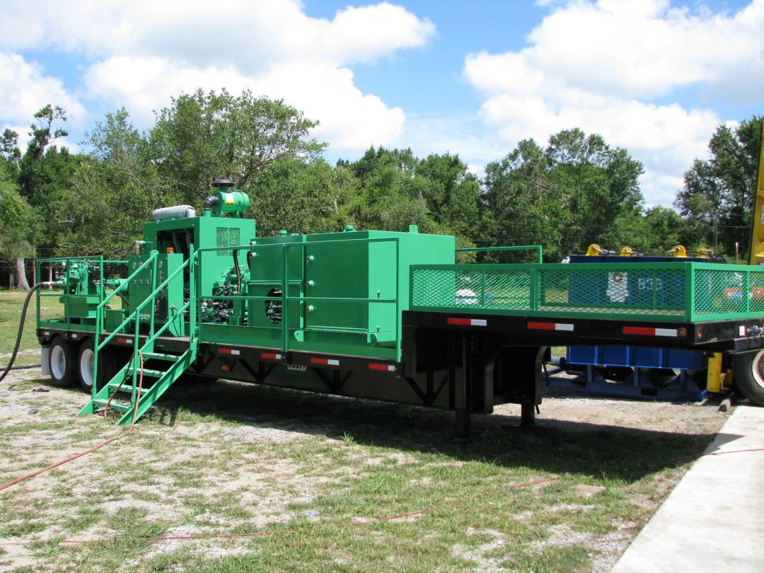 Tank Cleaning System / Hydraulic Power Unit (General View)