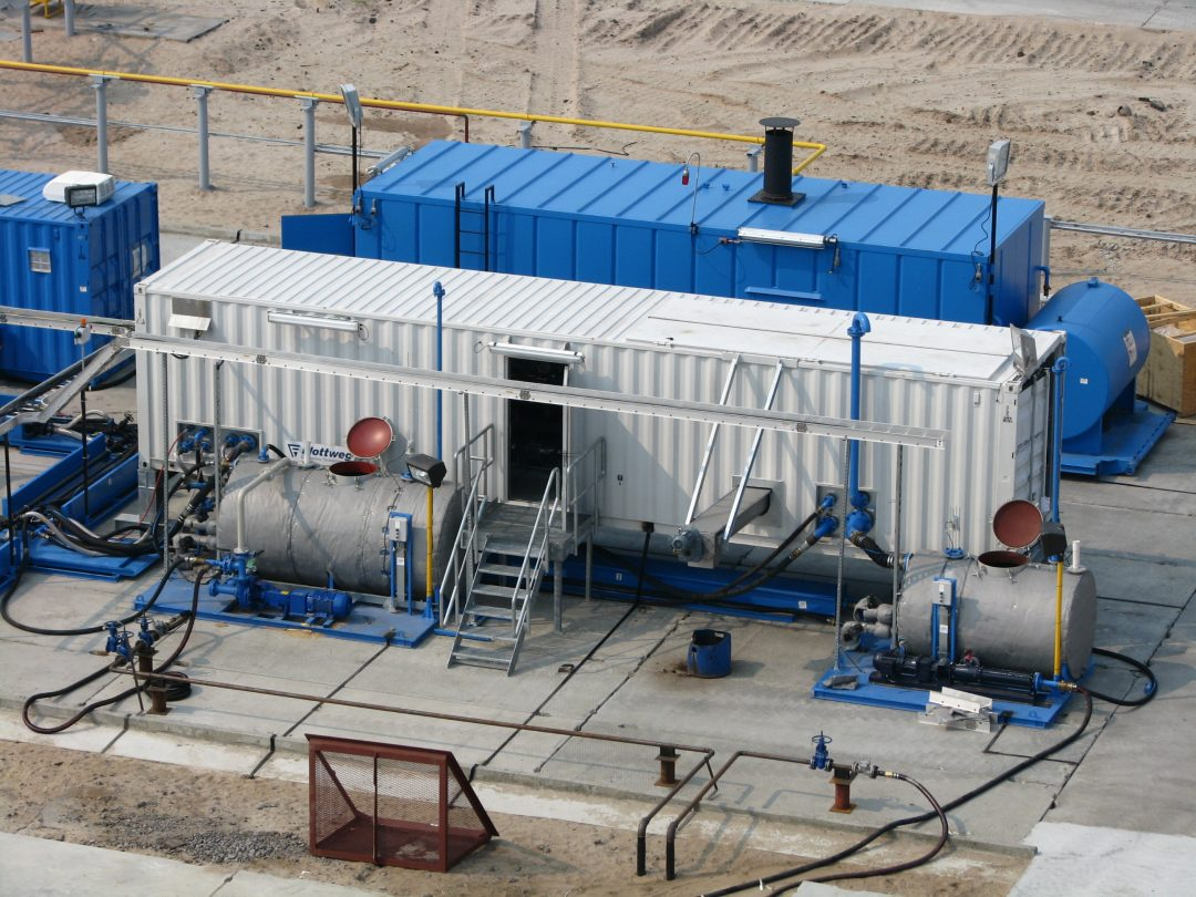 Liquid Phase Separation System / Tricanter Unit (General View)