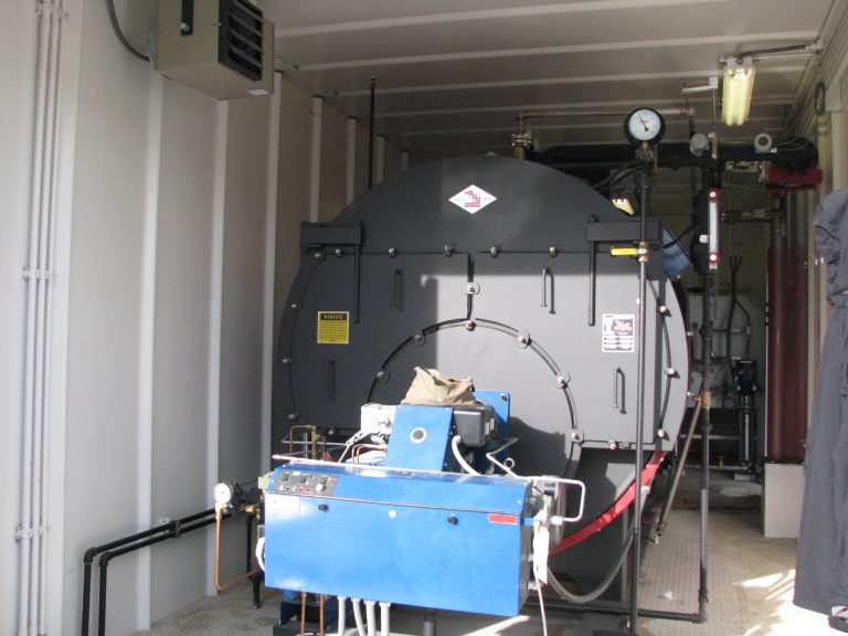 Liquid Phase Separation System / Steam Generator (Inside View)