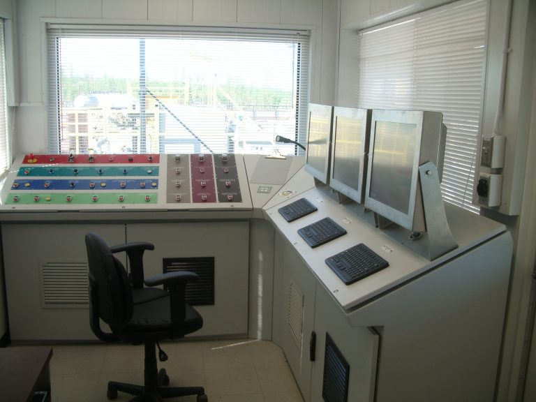 Incinerator Plant / Control Room (Inside View)