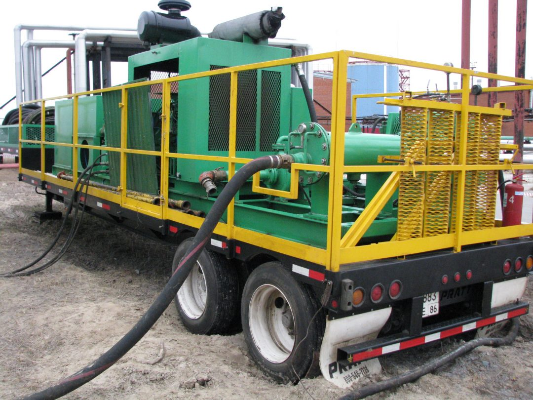Tank Cleaning System / Hydraulic Power Unit (Back Side View)