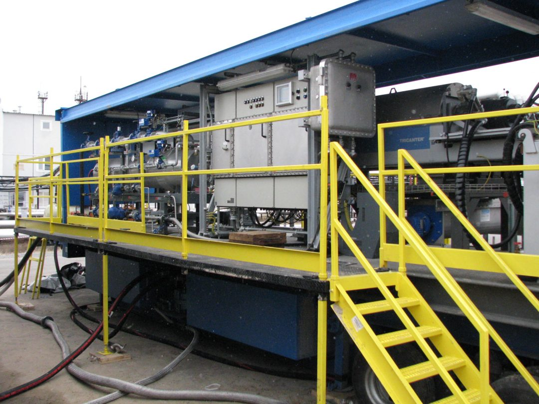 Tank Cleaning System / Tricanter Unit (General View)